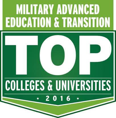 Top Colleges & Universities 2016 Military Advanced Education & Transition